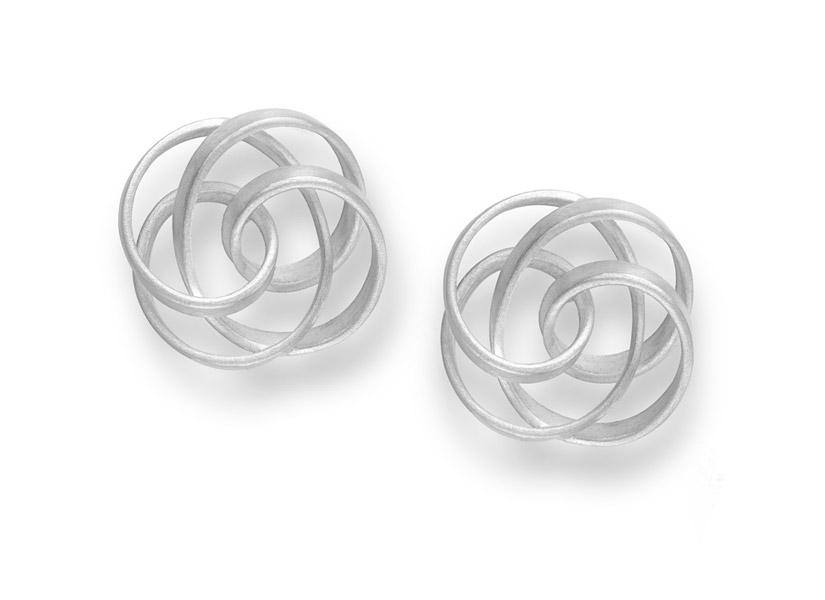 series KULU earrings silver