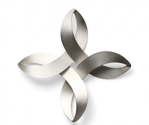 musubi KUMI brooch silver
