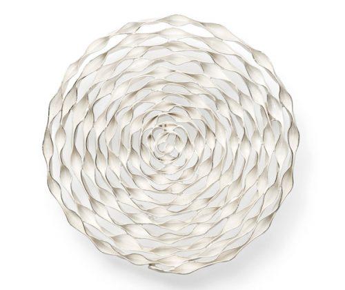 series spiral - brooch silver 935 Agall spiral pieces are elaborated handmade works:Thin stripes from silver or gold are wound and solderedalle spiral werkstücke sind aufwendig hergestellt:dünne Silber- oder Goldstreifen sind gewickelt und gelötet.