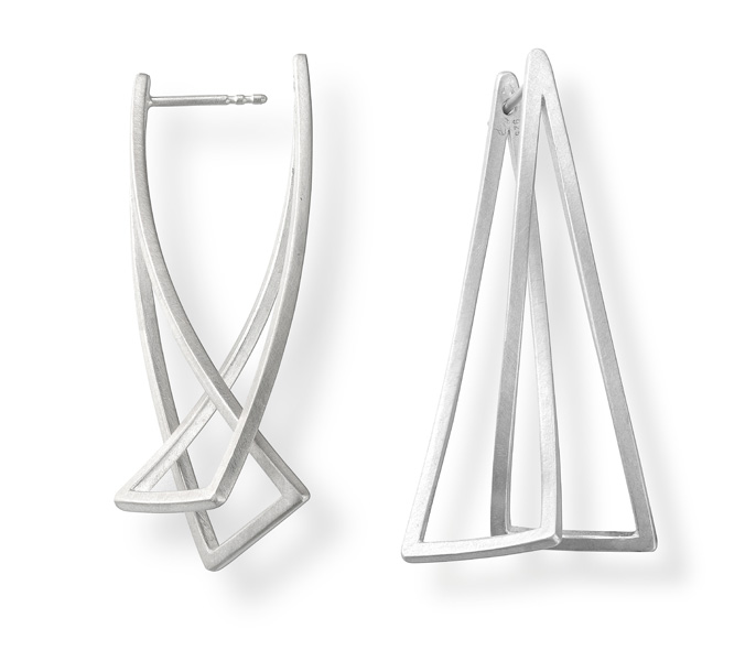 Series KLANG / shape TRIANGLE / silver