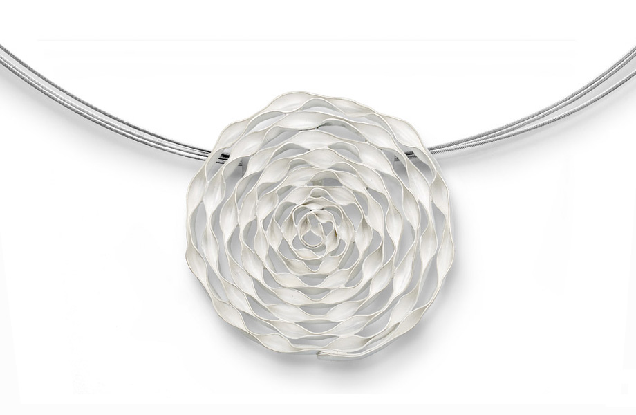 Series SPIRAL, pendant, silver